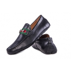 Мокасины Gucci ( 183-1 BLACK )
